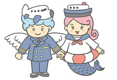 $ポテ子のベビ待ち→ベビ来た絵日記-キャラクター 男の子 女の子