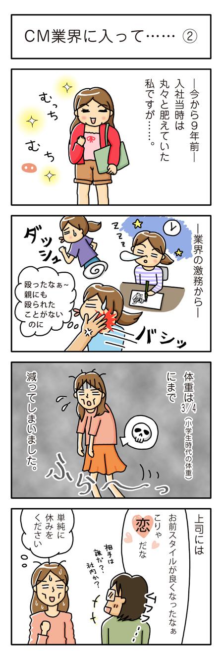 $「イラストレーター赤星ポテ子」の絵日記ブログ-CM制作会社 四コマ漫画 コミックエッセイ