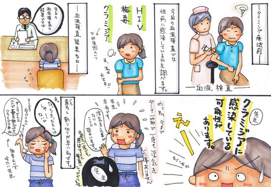 $「イラストレーター赤星ポテ子」の絵日記ブログ-妊活 ベビ待ち 不妊 コミックエッセイ
