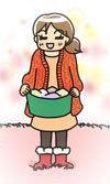 $ポテ子のベビ待ち→ベビ来た絵日記-アイリスオーヤマ イラスト 住まいの見直し