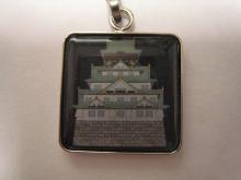 赤星ポテ子★イラストレーターのブログ-携帯 ストラップ 大阪城