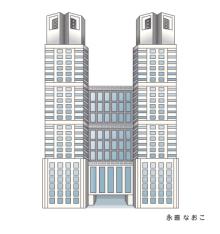 赤星ポテ子★イラストレーターのブログ-東京 新宿 都庁 TOKYO