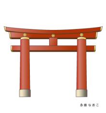 赤星ポテ子★イラストレーターのブログ-京都 平安神宮 KYOTO