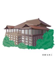 赤星ポテ子★イラストレーターのブログ-京都 清水寺 KYOTO