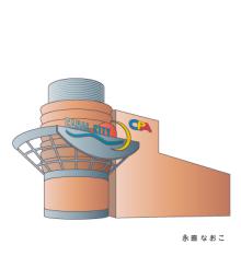 赤星ポテ子★イラストレーターのブログ-博多 キャナルシティ博多