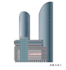 赤星ポテ子★イラストレーターのブログ-名古屋 JRセントラルタワー
