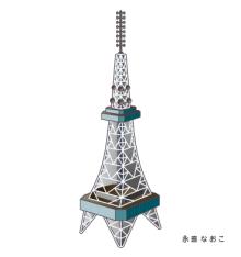 赤星ポテ子★イラストレーターのブログ-名古屋 栄 テレビ塔