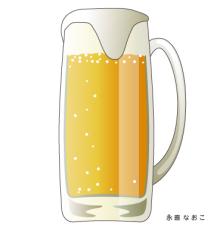 赤星ポテ子★イラストレーターのブログ-北海道 札幌 ビール ビール園
