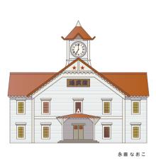赤星ポテ子★イラストレーターのブログ-北海道 札幌 時計台