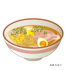 赤星ポテ子★イラストレーターのブログ-北海道 札幌 札幌ラーメン